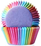 DDLBiZ 100 pcs Muffin Cupcake Wrapper Paper Cases Liners Cups (Colorful)