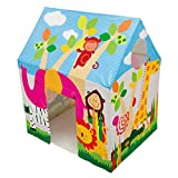 Have fun playing house in the quaint Intex Friendship Play Tent. Designed to let in the breeze, with a lightweight polyester material, this fun play tent has a crawl through door, and a beautiful design that appeals to kids.