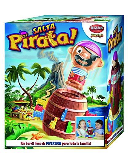 Tricky juegos - Salta Pirata, juego de habilidad (Bizak 30697028)