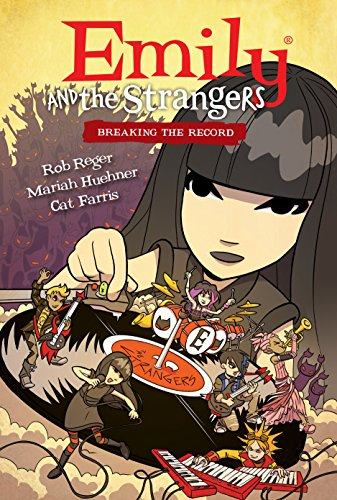 Emily and the Strangers Volume 2: Breaking the Record (English Edition)