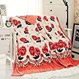 ShineMoon Home Bedding Collection Fluffy Fleece Bed Throw - Best Reviews Guide