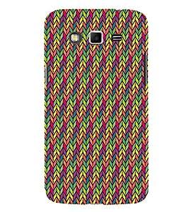 Arrow Multicolor Chevron 3D Hard Polycarbonate Designer Back Case Cover for Samsung Galaxy Grand i9080 :: Samsung Galaxy Grand i9082