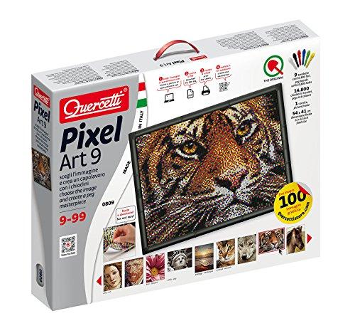 Preisvergleich Produktbild QUERCETTI PIXEL ART-9 41X54CM 9+ANNI