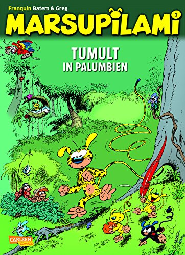 Tumult in Palumbien (Marsupilami, Band 1)