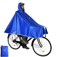 Anyoo Mantella da Bicicletta Impermeabile Portatile Leggera Poncho da Pioggia Bici Bicicletta Compatta Riutilizzabile…