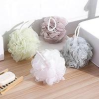 Kaige Bola de baño Super suave baño flor baño aseo cuatro color lavado baño burbuja pack bola cuatro