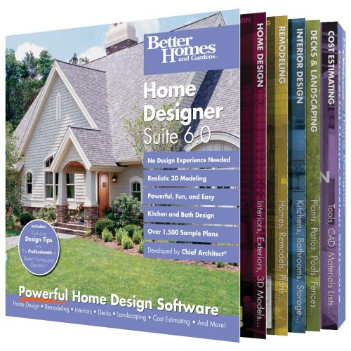 Better Homes and Gardens Home Designer Suite 6 - Homes And Better Gardens-software
