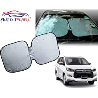 Auto Pearl Window Front Sunshade Curtains for Innova Crysta 2019
