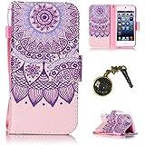 PU Carcasa de silicona teléfono móvil Painted PC Case Cover Carcasa Funda De Piel Caso de Shell cubierta para Apple iPod Touch 5/touch 6+ Polvo Conector