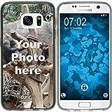 PhoneNatic Case für Samsung Galaxy S6 Silikon-Hülle zum selber gestalten Custom Case schwarz