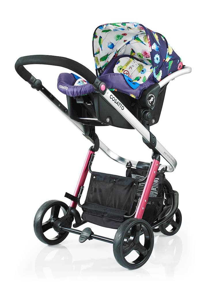 Cosatto Woop Pushchair, Suitable from Birth to 15 kg, Eden Cosatto  3