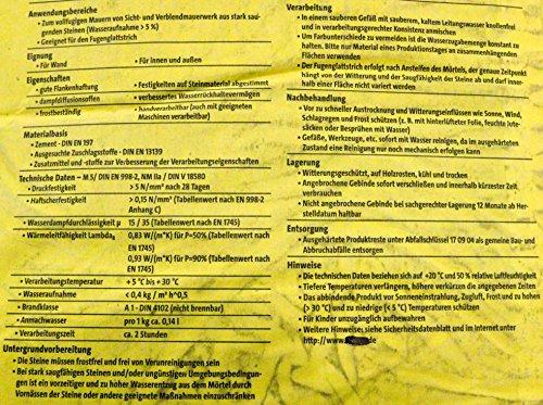 30kg Vormauermörtel VK anthrazit