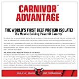 MuscleMeds Carnivor Beef Protein Isolate Powder Peanut Butter 28 Servings