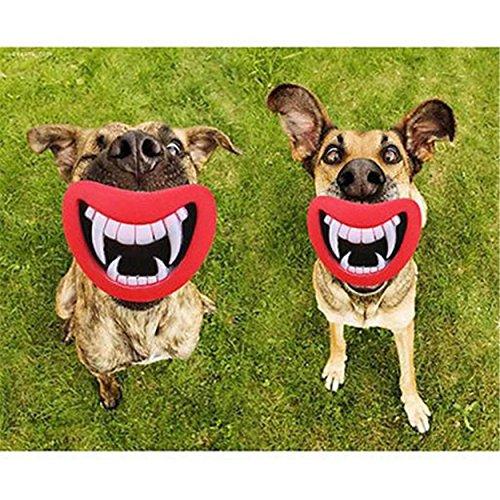 Hund Halloween Zähne Silikon Spielzeug Puppy Chew Sound Neuheit Hunde Spielen Spielzeug (Hund, Ente, Halloween Kostüm)
