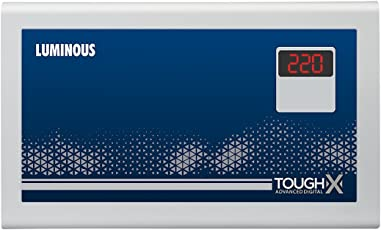 Luminous ToughX TA150D 150V Voltage Stabilizer for up to 1.5 Ton AC (Grey)