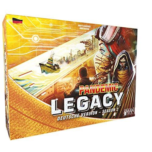 ZMan ZMND0002 Pandemic Legacy - Season 2 Gelb (Zman Games)