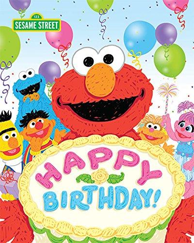 Happy Birthday! (Sesame Street Scribbles) (English Edition)