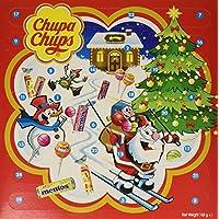 Chupa Chups Calendrier De L'avent - Pour Attendre Noël Avec Gourmandise- Assortiments De Sucettes, Bonbons Et Mini Rouleaux Mentos lot De 3