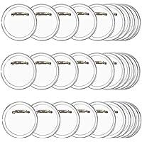 TIMESETL 30pz Spille Fai da Te Basi Spille Rotonde Bottini Spille Badge,6cm/2.36inches Spilla Bottoni Spilla Distintivo…