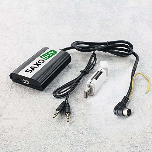 V70 Adapter (USB + SD + AUX Adapter für Volvo S40, V40, S60, S70, V70, S80, C70, XC70)