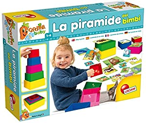 Lisciani-Juegos Educatifs-57696-Carotina Baby Tower Game