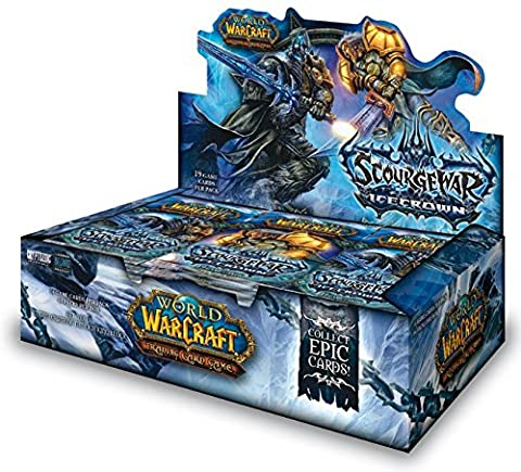 Upper Deck - World Of Warcraft JCC Boite de 24 Boosters La Guerre du Fléau