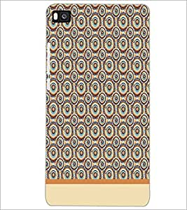 PrintDhaba Pattern D-1914 Back Case Cover for HUAWEI P8 (Multi-Coloured)