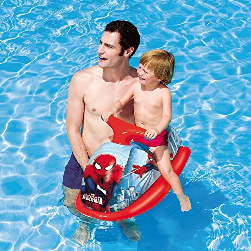 98012 Juguete hinchable moto de agua SPIDERMAN Bestway