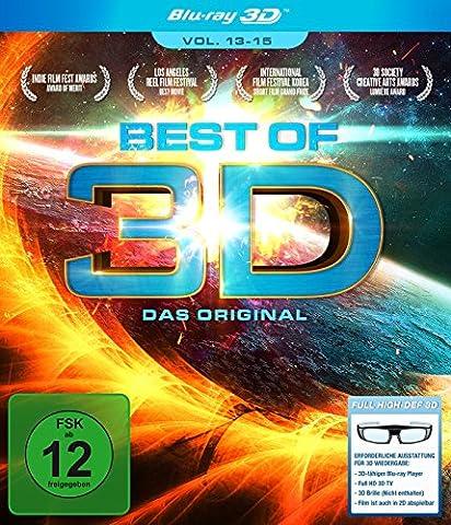 Best of 3D - Das Original - Vol. 13-15 [3D Blu-ray] (Beste 3d Blue Ray Filme)