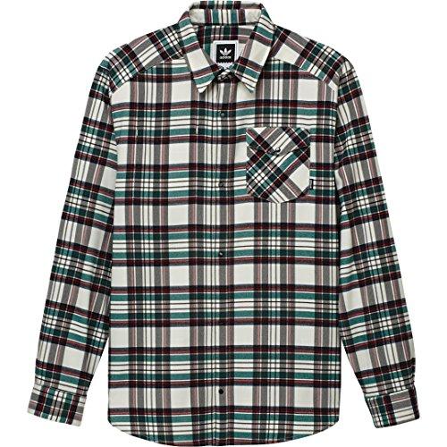 Adidas SK Hemd Tartan Flannel Check WhtG Mehrfarbig