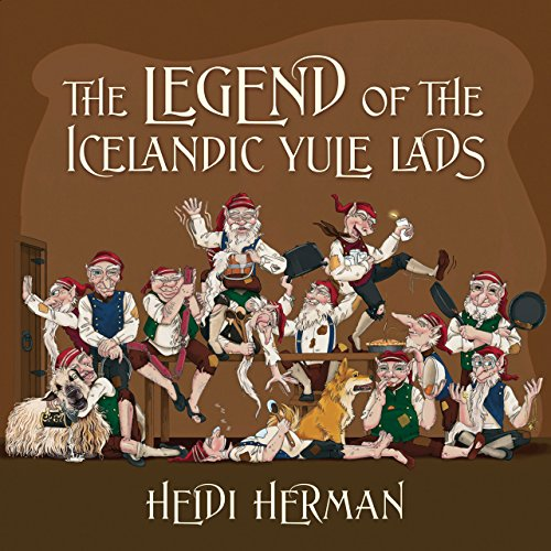 Book cover image for The Legend of the Icelandic Yule Lads