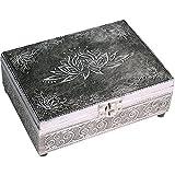 Tarot - Schmuckdose - Tarot- und Schmuckkistchen Lotus - Karten, Schmuck, kleine Schätze - Dose - Box - CUTE NAILS