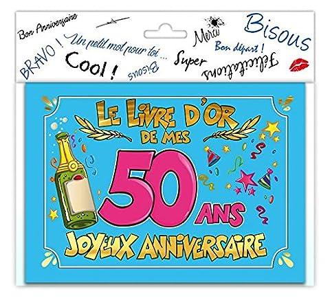 LIVRE D'OR JOYEUX ANNIVERSAIRE - TOCADIS-50 ANS