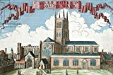 Alu-Dibond-Bild 140 x 90 cm: St. Marie Overie in Southwark, from A Book of the Prospects of the Remarkable Places in and