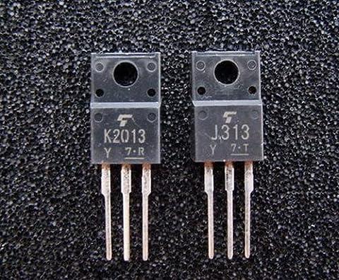 Electronics-Salon 2pcs 2sk2013 Audio Power Amplificateur MOS-FET