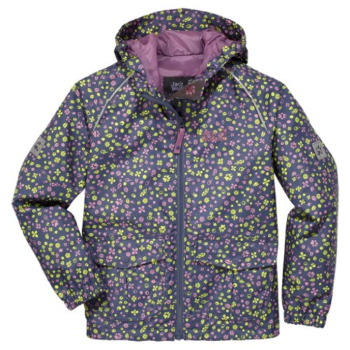 Jack Wolfskin GIRLS CONKERS JACKET shady blue all over