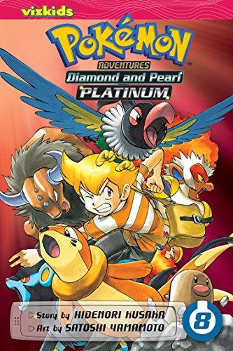 Pokemon Diamond and Pearl Platinum. Volume 8