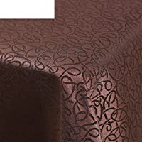 DXG&FX Continental Hotel restaurant table Bubu Arts Cafe rectangular coffee table cloth Fashion living room tablecloth-B 120x180cm(47x71inch)