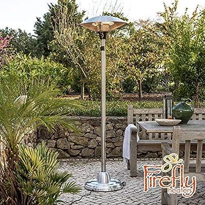Firefly 2.1kW Adjustable Free Standing Electric Infared Halogen Outdoor Patio Heater