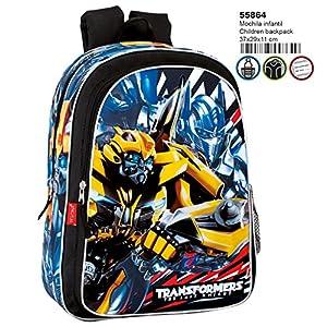 61Z739V1cdL. SS300  - Transformers Mochila Infantil Escolar, niño