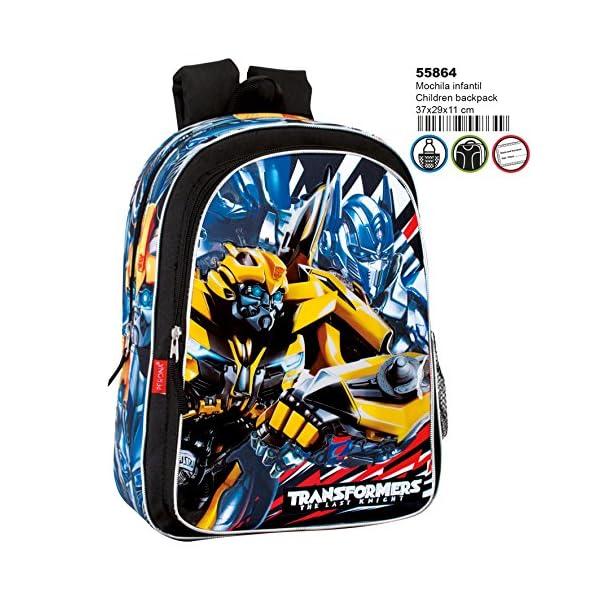 61Z739V1cdL. SS600  - Transformers Mochila Infantil Escolar, niño