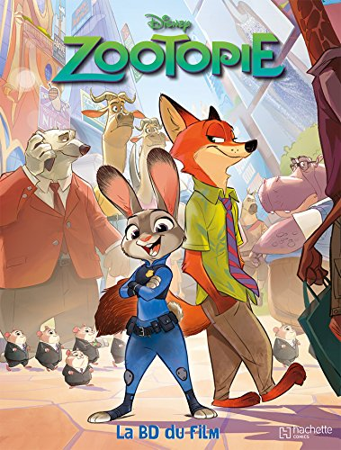 Zootopie : La BD du film