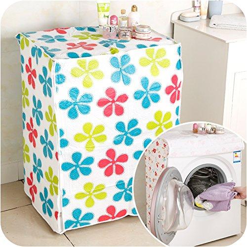 Ducomi® Turbo Wash - Futter für große Abdeckungen Bad- und Küchengeräte - Ideen für Waschmaschine und Trockner - Verhindert Maschinenschäden - 82 x 62 x57 cm (1 Piece, Dots) (Staub-abdeckung Nähmaschine)