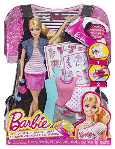 Barbie - BDB32 - Poupée Tshirt Création