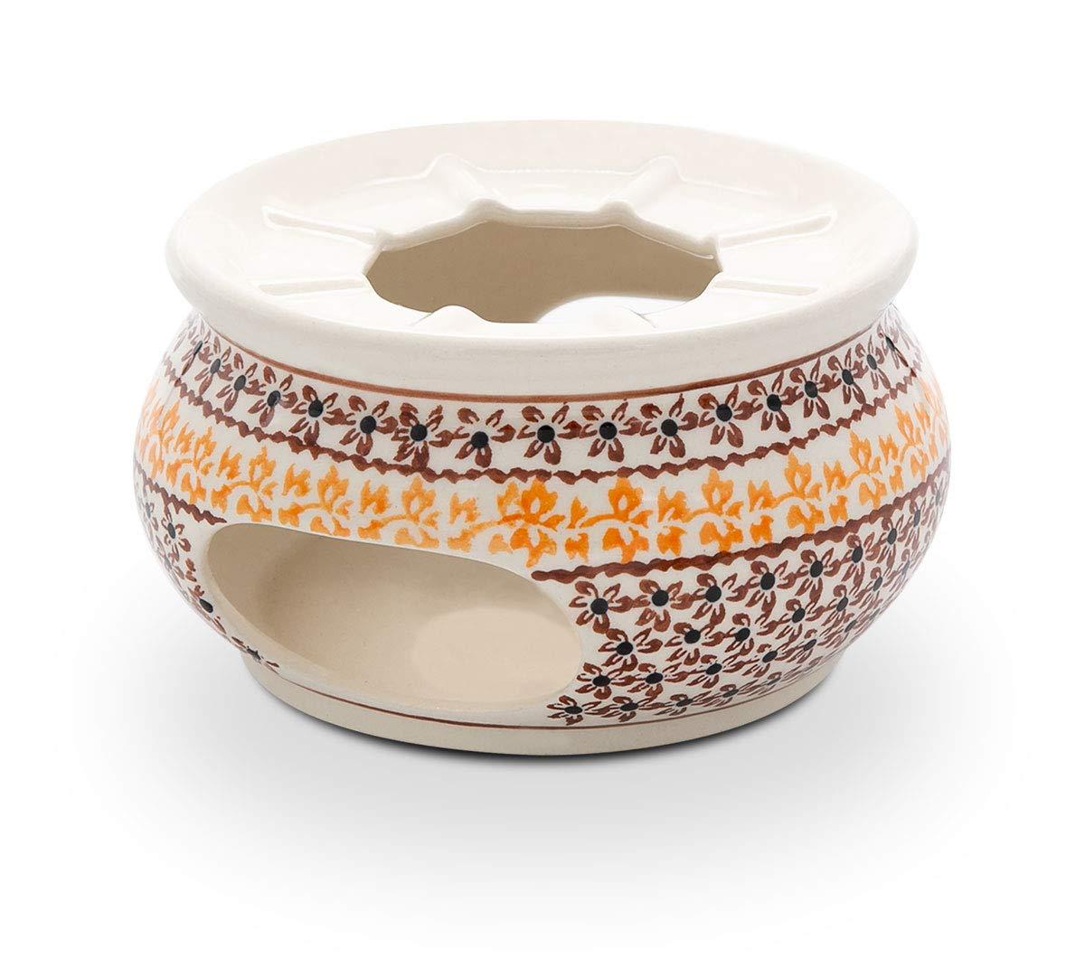 Hand-Decorated Polish Pottery Teapot Warmer ø13.9cm for Teapot/Coffee Pot Design 973