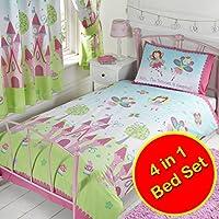 Princess is Sleeping 4 in 1 Junior Bedding Bundle (Duvet + Pillow + Covers)
