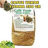 CAFFE VERDE Green Coffee Tisana 250gr DIMAGRANTE BRUCIA GRASSI 250 Grammi immagine