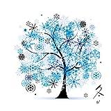 Yontree Kreuzstich Stickerei DIY Handarbeit Stickpackung Set vom Baum des