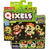 QIXELS Theme Refill Pack - Glow in the Dark Zombies - NEW