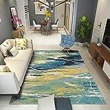 BAGEHUA Maßgeschneiderte Teppich Wohnzimmer Shop Moderne Schlafzimmer Home Bedside Decke North Rechteckige Couchtisch Pad, 80X150Cm, Ms-09